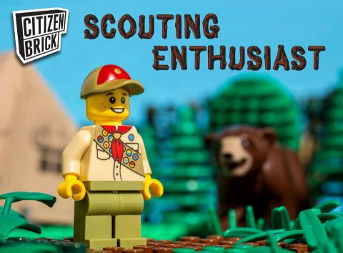 LEGO Scout by CitizenBrick