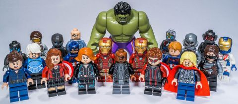 LEGO Super Heroes Age of Ultron Minifigures by Gnaat Lego