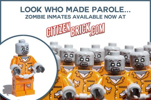 LEGo Custom Zombies by CitizenBrick