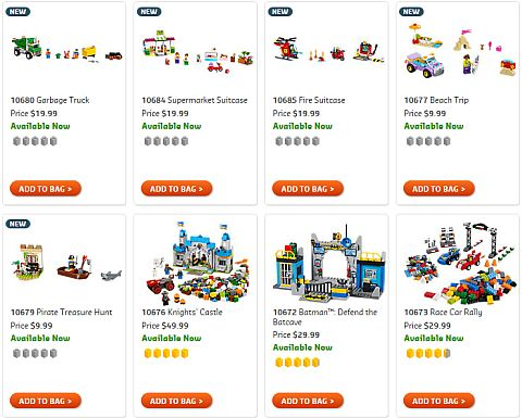 Shop LEGO Juniors