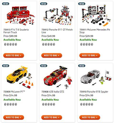 Shop LEGO Speed Champions