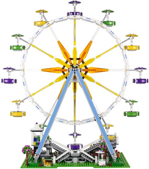 #10247 LEGO Creator Ferris Wheel Back View