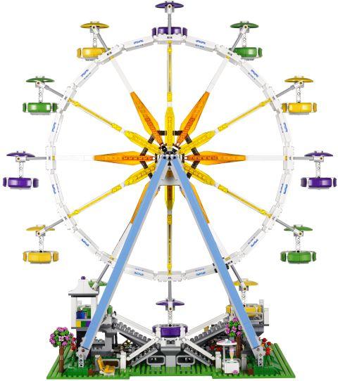 #10247 LEGO Creator Ferris Wheel Back View