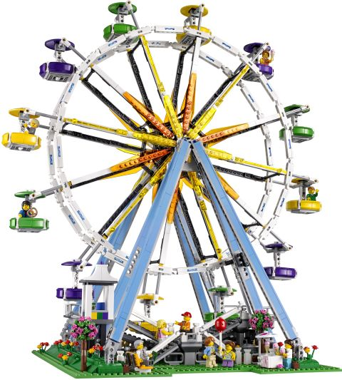 #10247 LEGO Creator Ferris Wheel Front View