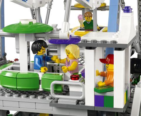 #10247 LEGO Creator Ferris Wheel Functions