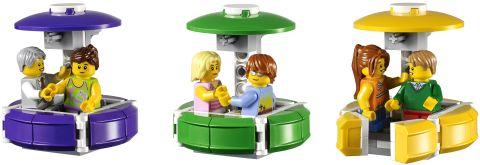 #10247 LEGO Creator Ferris Wheel Gondolas