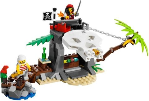 #70411 LEGO Pirates Treasure Island Details