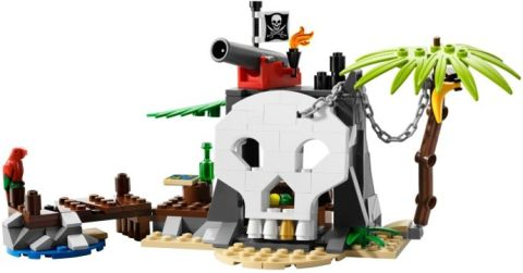 #70411 LEGO Pirates Treasure Island Review