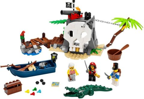 #70411 LEGO Pirates Treasure Island