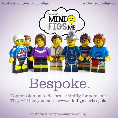 Custom LEGO Minifigs by Minifigs.Me Bespoke