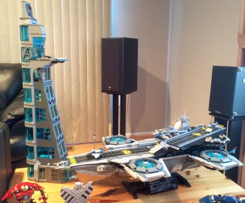 LEGO Avengers Tower Expanded Version