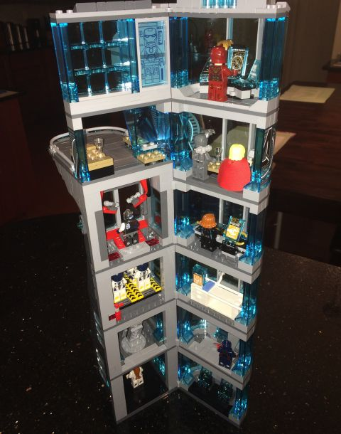 LEGO Avengers Tower Tall Version