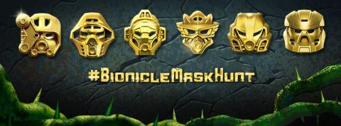 LEGO BIONICLE Gold Mask