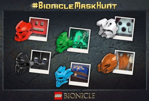 LEGO Bionicle Gold Mask Contest