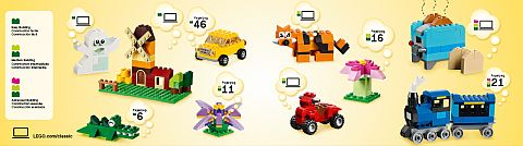 LEGO Creative Instructions Details