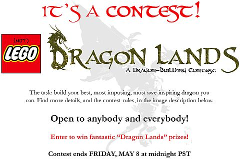 LEGO Dragon Building Contest