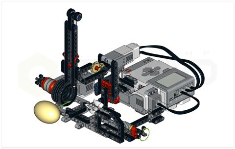 LEGO Mindstorms Easter Egg Decorator Instructions