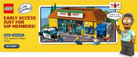 LEGO Simpsons Kwik-E-Mart VIP Release