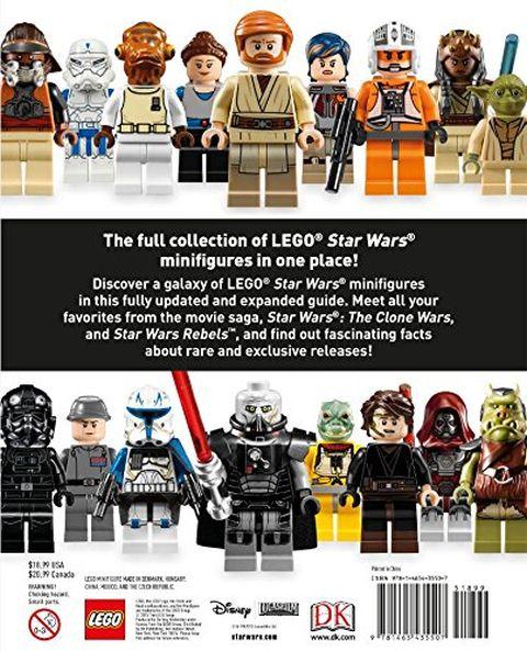 LEGO Star Wars Character Encyclopedia Back