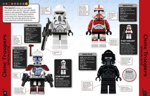 LEGO Star Wars Character Encyclopedia Details