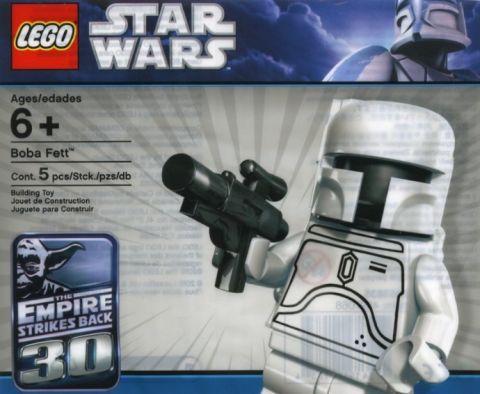 LEGO Star Wars Character Encyclopedia White Boba Fett Old
