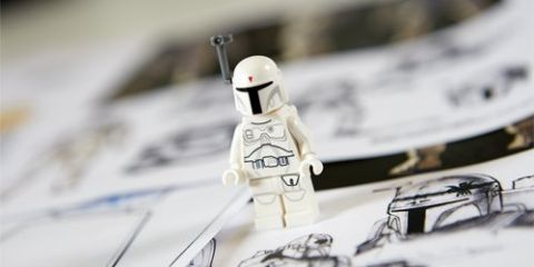 LEGO Star Wars Character Encyclopedia White Boba Fett