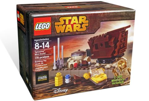 LEGO Star Wars Tatooine Mini-Build