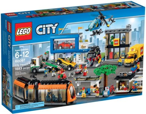 #60097 LEGO City Square Box