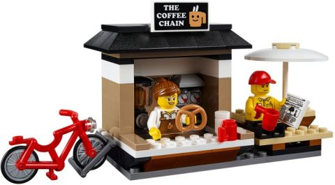 #60097 LEGO City Square Coffee Shop