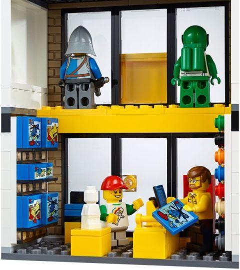#60097 LEGO City Square LEGO Store Details