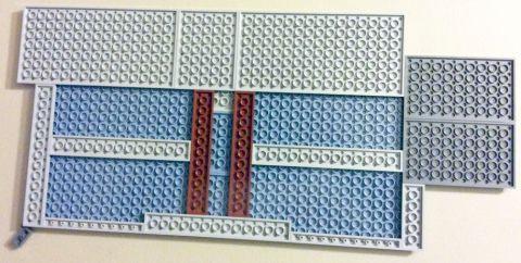 #71016 LEGO Simpson Kwik-E-Mart Floor