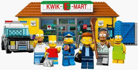 #71016 LEGO Simpsons Kwik-E-Mart Minifigs