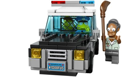 #71016 LEGO Simpsons Kwik-E-Mart Police Car Details