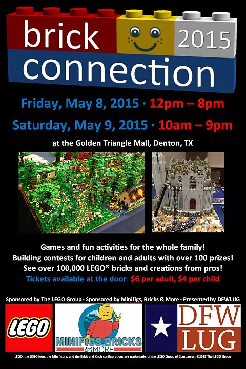 BrickConnection LEGO Fan Event Details
