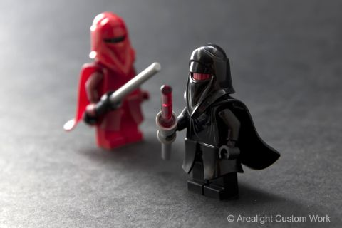 Custom LEGO Soft Plastic Capes by Arealight