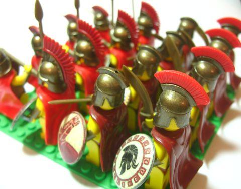 Custom LEGO Spartans