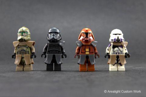 Custom LEGO Star Wars Elements by Arealight