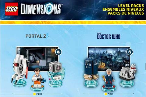 LEGO Dimensions Pack Portal & Doctor Who