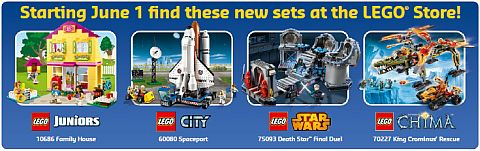 LEGO June Store Calendar New Sets