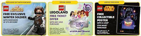 LEGO June Store Calendar Specials