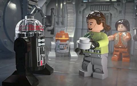 LEGO Star Wars Clear Dome R2