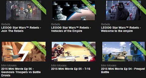 LEGO Star Wars Mini Movies