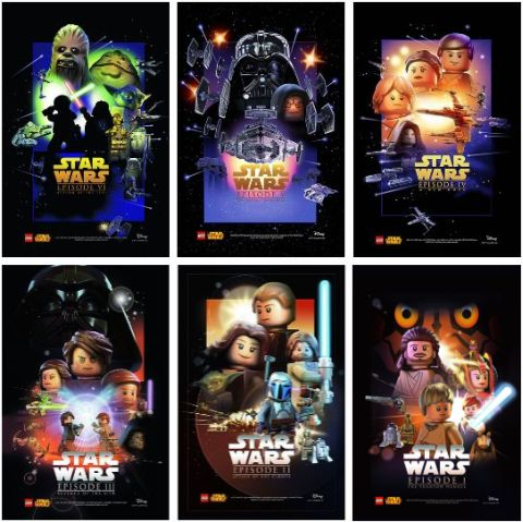 LEGO Star Wars Posters 2015
