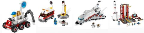 LEGo City Space Sets 2011