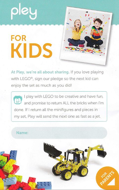 Pley LEGO Rental Review 3