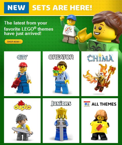 Shop 2015 LEGO Summer Sets