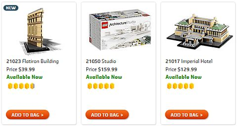 Shop LEGO Architecture