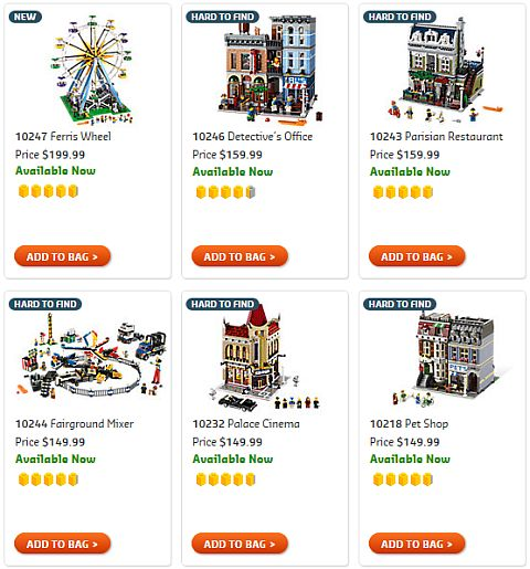 Shop LEGO Creator Ferris Wheel