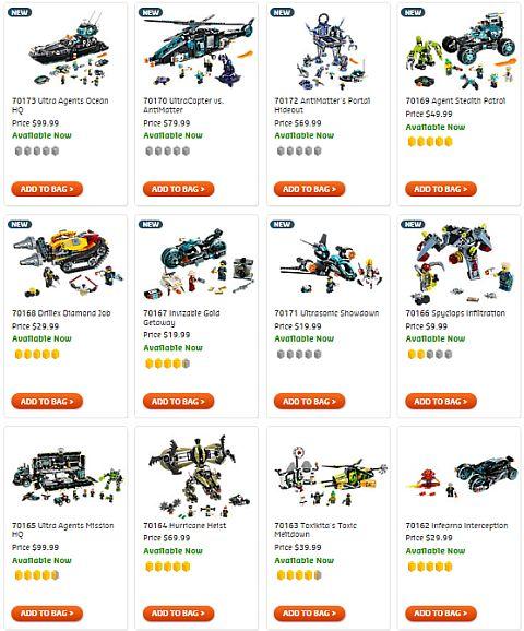 Shop LEGO Ultra Agents