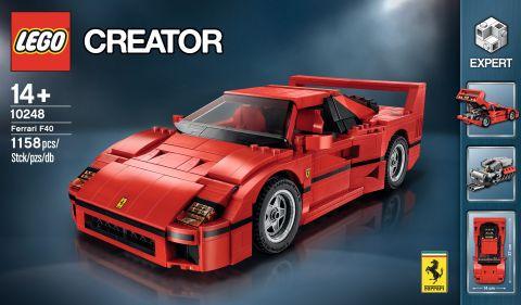 #10248 LEGO Ferrari F40 Press Release